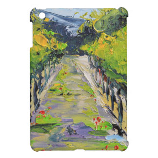 California winery, summer vineyard vines in Carmel iPad Mini Cases