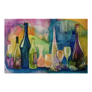 California Wines Poster