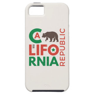 California With Grizzly Bear Logo Case For The iPhone 5