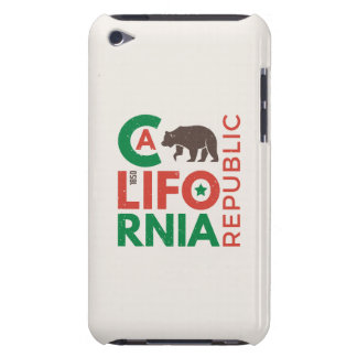 California With Grizzly Bear Logo Case-Mate iPod Touch Case