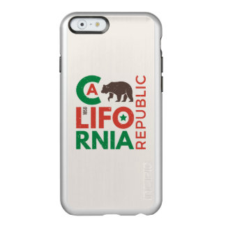 California With Grizzly Bear Logo Incipio Feather® Shine iPhone 6 Case