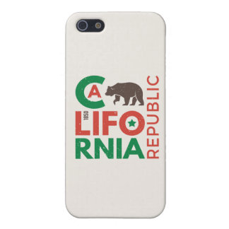 California With Grizzly Bear Logo iPhone 5/5S Cover