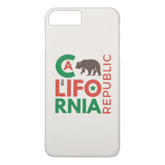 California With Grizzly Bear Logo iPhone 8 Plus/7 Plus Case