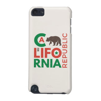 California With Grizzly Bear Logo iPod Touch (5th Generation) Covers