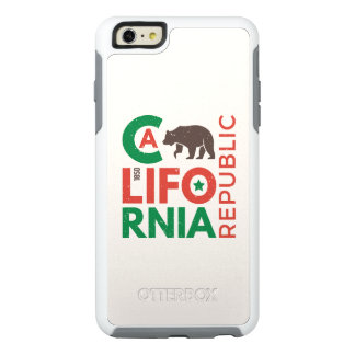 California With Grizzly Bear Logo OtterBox iPhone 6/6s Plus Case
