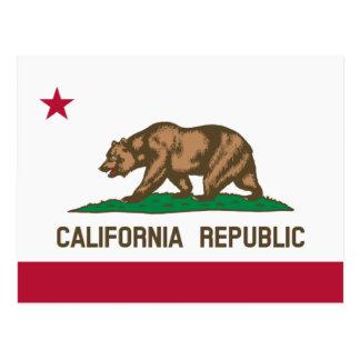 Californian flag postcards for California Republic