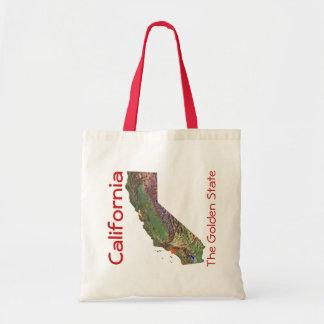 Californian Map Bag
