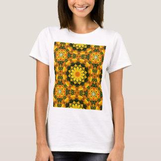 Californian Poppies Nature, Flower-Mandala T-Shirt
