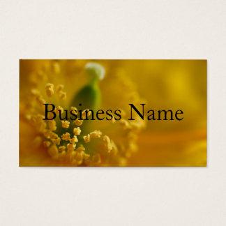 Californian Poppy  Business Card