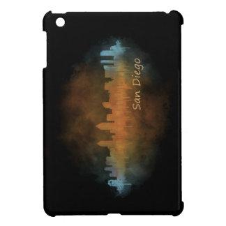 Californian San Diego City Skyline Watercolor v04 iPad Mini Cases
