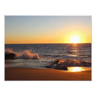 Californian Sunset Photo Art
