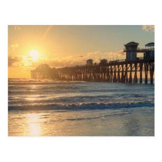 Californian Sunset Postcard