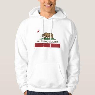 CaliforniaRepublic Flag Valley Glen Hoodie