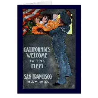California's Welcome to the Fleet Card