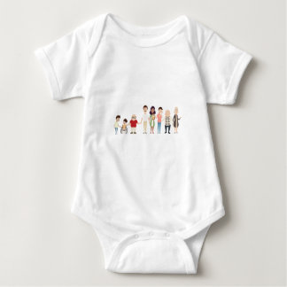 CaliforniaSibs Baby Bodysuit