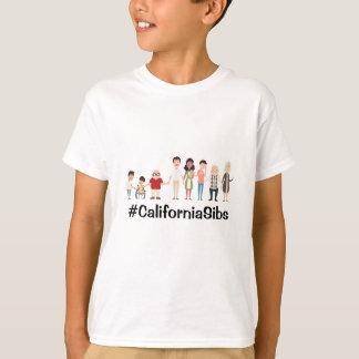 CaliforniaSibs kids tshirt