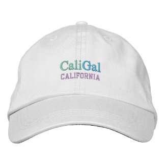 CaliGal cap Embroidered Hat