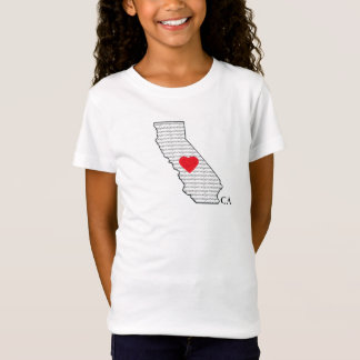 """Caligirl"" Girls Cotton Tee"