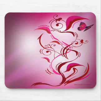 Caliope Mousepad (Red/Pink)