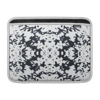 Calista Stylish Fashion Motif Design in White MacBook Sleeve