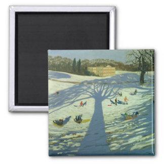 Calke Abbey House Winter 2002 Magnet