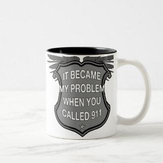 Call 911 Coffee Mug