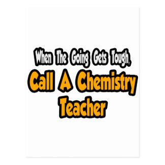 Call a Chemistry Teacher Postcards