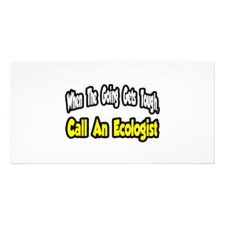 Call an Ecologist Photo Card