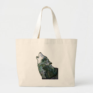 CALL AT MIDNIGHT LARGE TOTE BAG