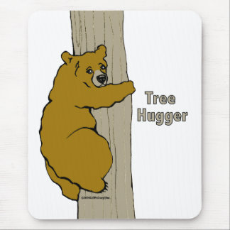 Call Me Crazy Tree Hugger Mouse Pad