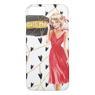 """""""Call Me"""" iPhone Barely There phone case"""