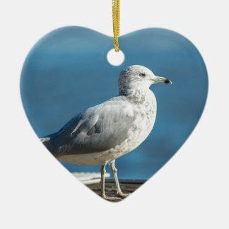 Call me M.Seagull Ceramic Ornament