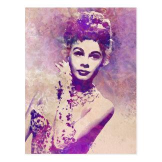 Call Me Madam pretty postcard
