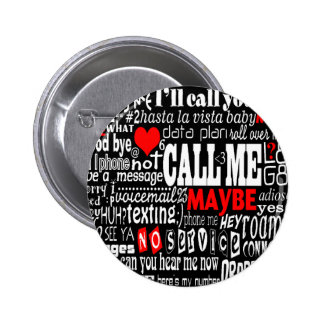 Call Me... Maybe (Dark Colors) Pins