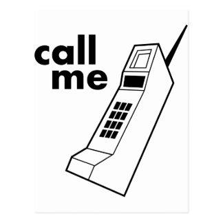 Call Me Postcard