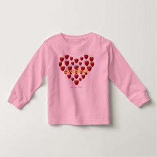 Call Me SweetHeart- Toddler (Long sleeve) T Shirt