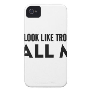 Call Me Trouble iPhone 4 Case-Mate Case