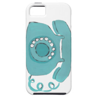 Call Me Vintage Retro Phone iPhone 5 Case