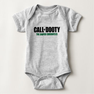 Call of Dooty: The Diaper Chronicles Baby Bodysuit