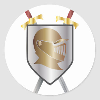 Call of Knights Classic Round Sticker