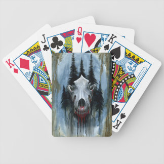 Call of the Wild Bicycle Playing Cards