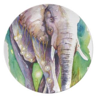 Call of the Wild Elephant Dinner Plates