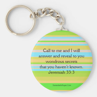 Call on God Keychain