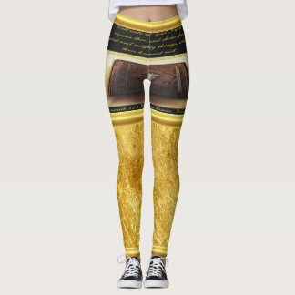Call unto me, and I will answer thee Jeremiah 33:3 Leggings