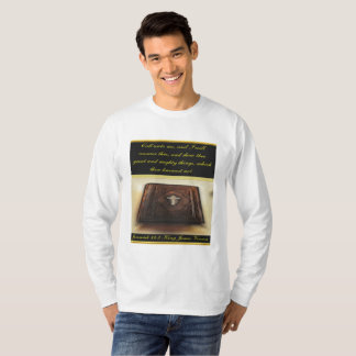 Call unto me, and I will answer thee Jeremiah 33:3 T-Shirt
