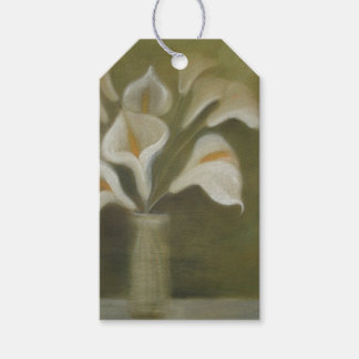 Calla Cut Flowers In A Vase Pack Of Gift Tags