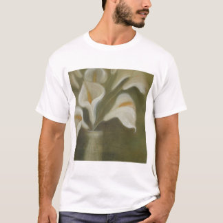 Calla Cut Flowers In A Vase T-Shirt