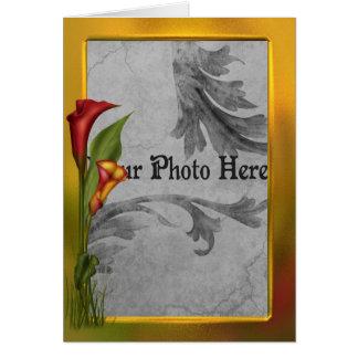 Calla Frame Card