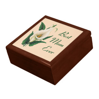 Calla Lilies Best Mom Ever Gift Box
