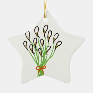 Calla Lilies Ceramic Ornament
